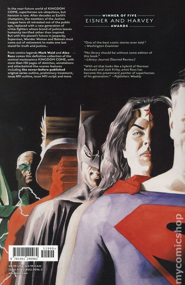 Kingdom Come TPB (2019 DC Black Label) New Edition comic books
