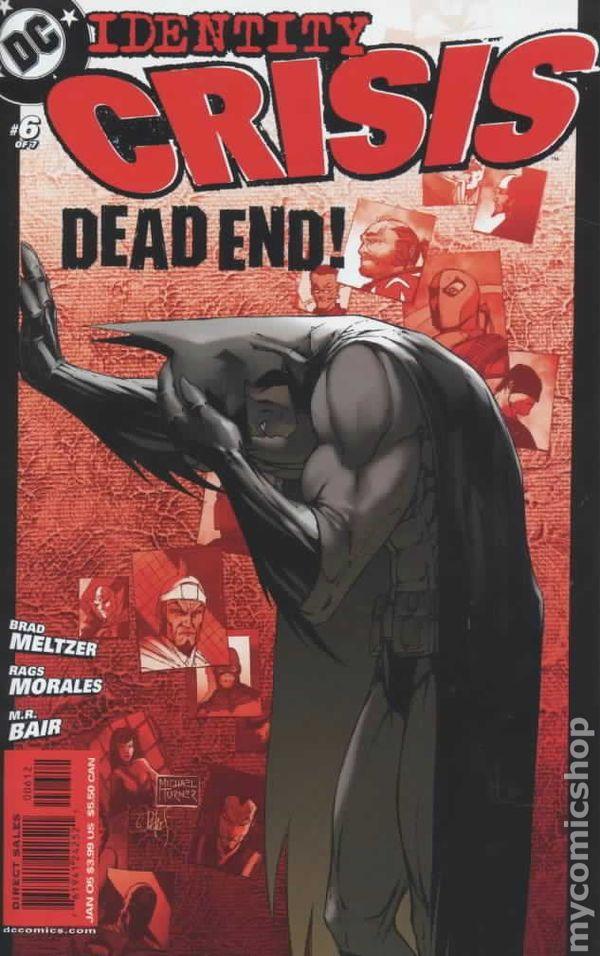 Identity Crisis 2004 comic books