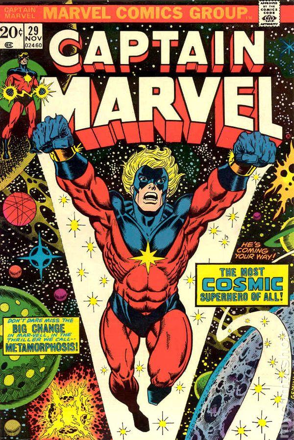 Captain Marvel 1968 1st Series Marvel Mark Jewelers comic books 19701979