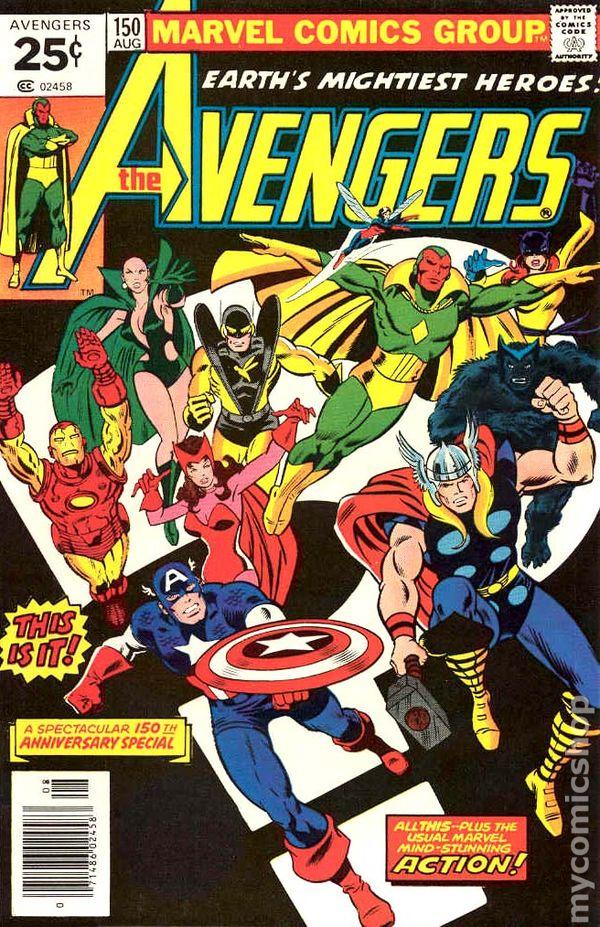 Avengers 1963 1st Series Mark Jewelers comic books