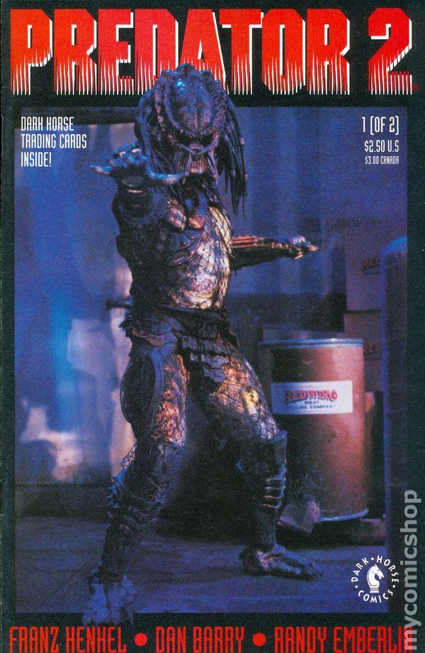 Predator 2 1991 Movie Adaptation comic books