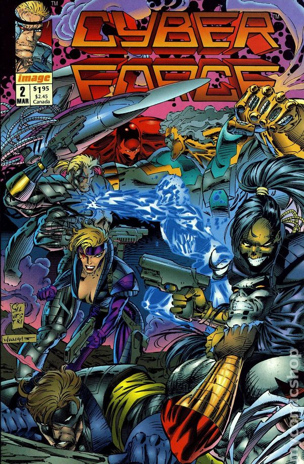 Cyberforce 1992 1st Series comic books