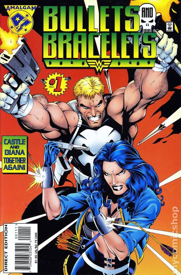 Comic books in Amalgam DC Marvel Crossovers