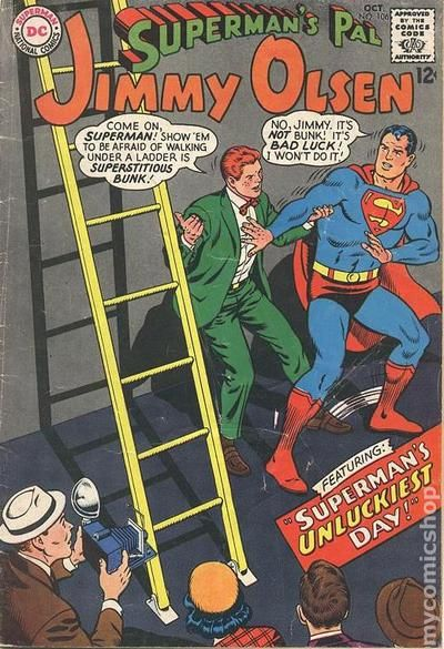 Supermans Pal Jimmy Olsen 1954 comic books