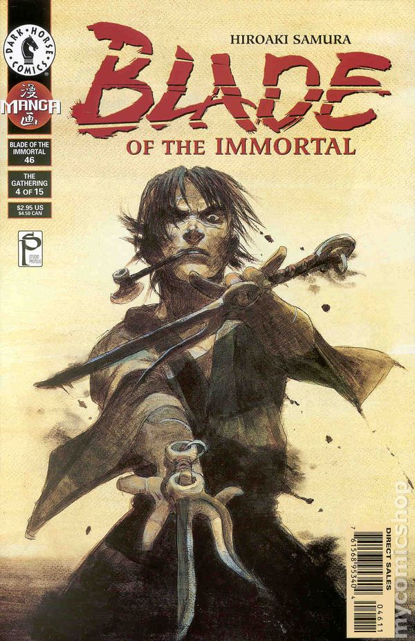 Blade of the Immortal 1996 comic books