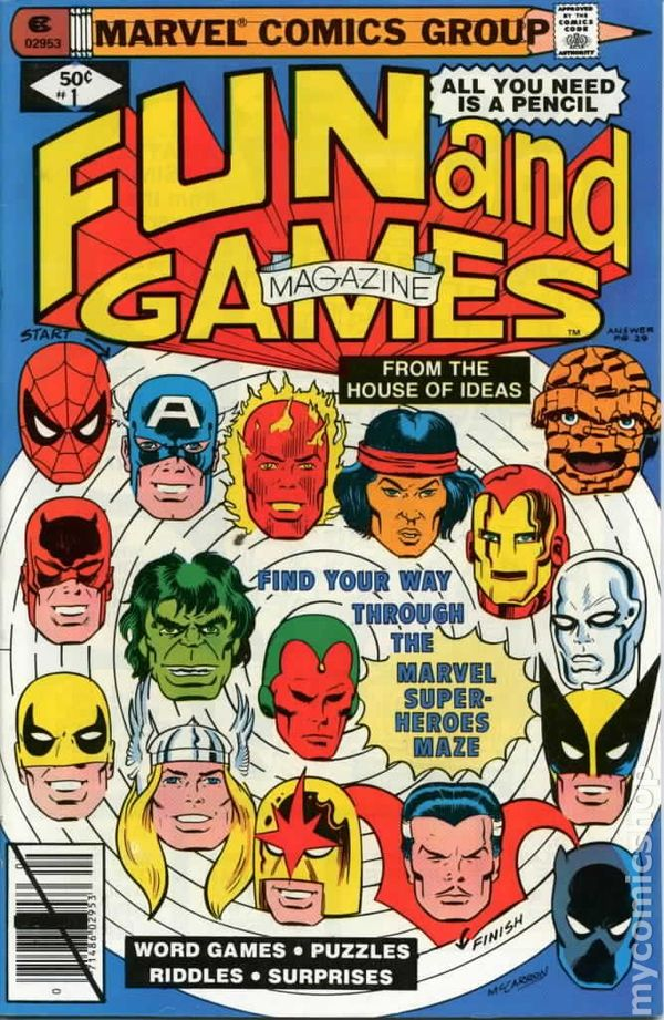 Marvel Fun And Games 1979 Comic Books