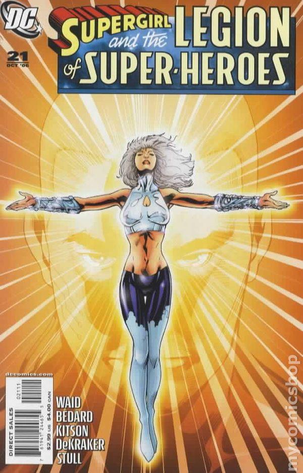Superman Super Girl Super Boy Wallpaper Supergirl And The Legion Of Super Heroes 2006 Comic Books