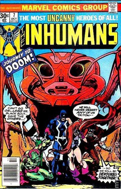 Inhumans 1975 1st Series comic books