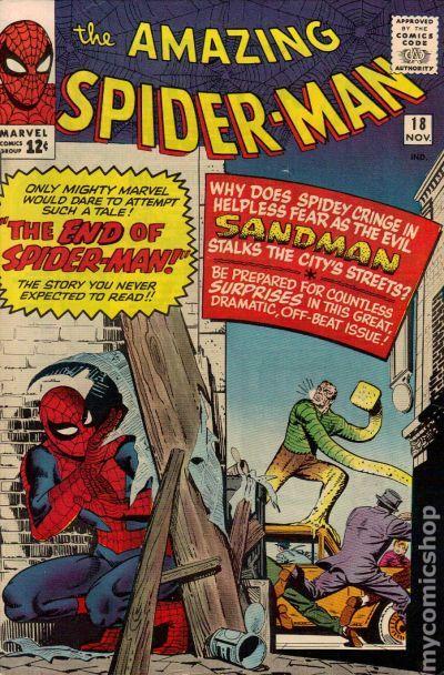 Amazing SpiderMan 1963 1st Series comic books