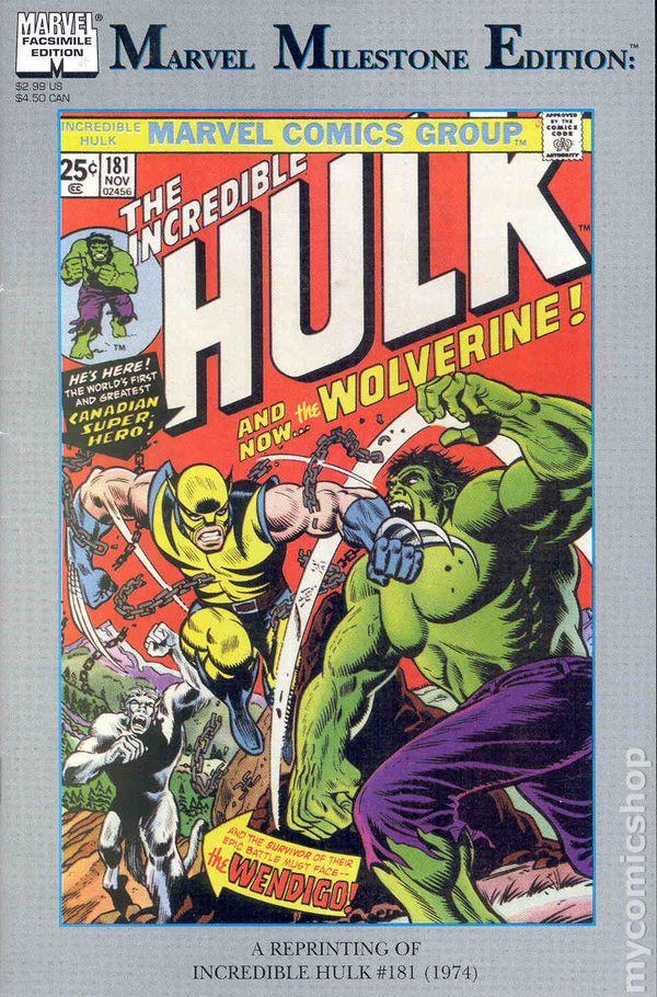 Incredible hulk comic books issue 181