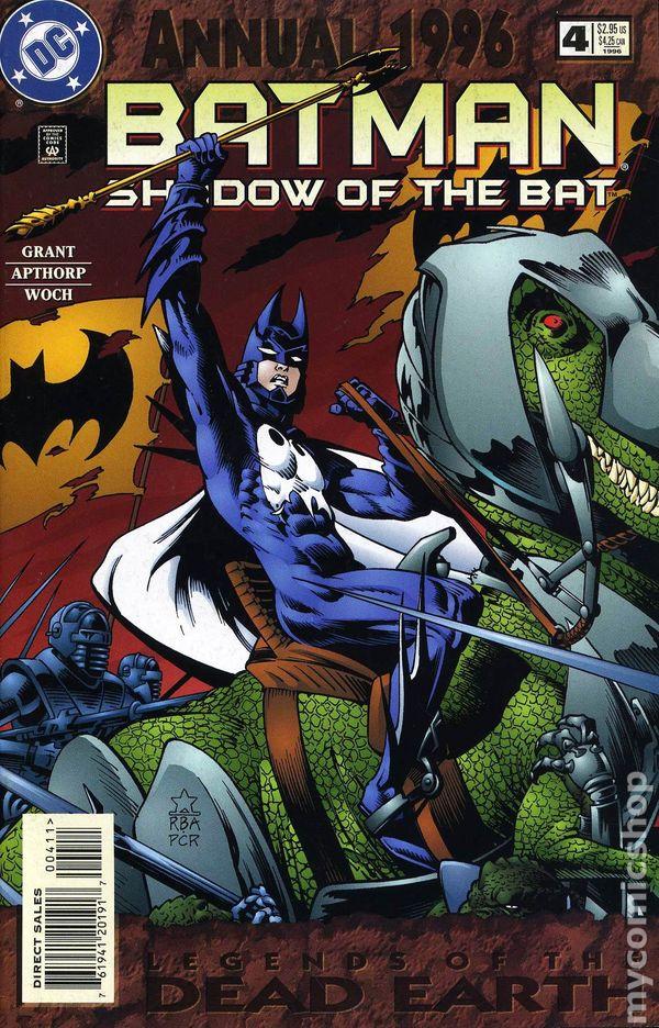 Batman Shadow of the Bat 1993 Annual comic books