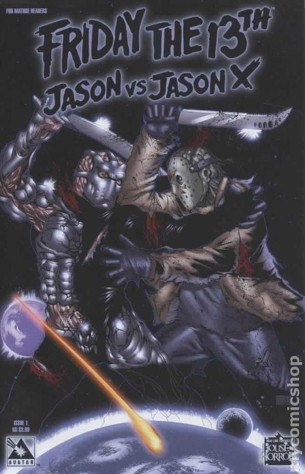 Friday The 13th Iphone Wallpaper Friday The 13th Jason Vs Jason X 2006 Comic Books