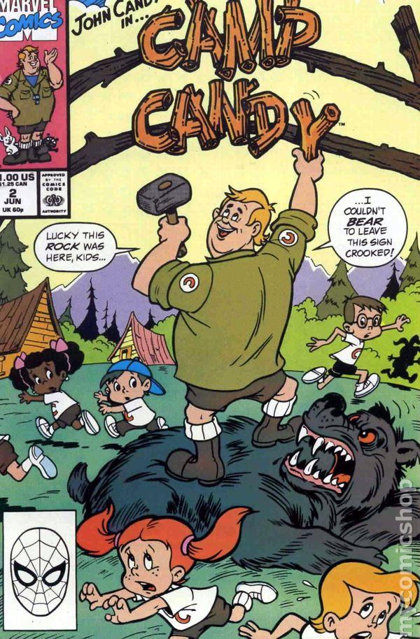 Camp Candy 1990 comic books