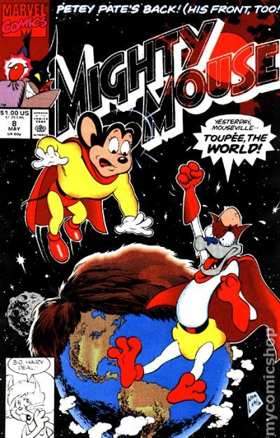 Mighty Mouse 1990 Marvel comic books