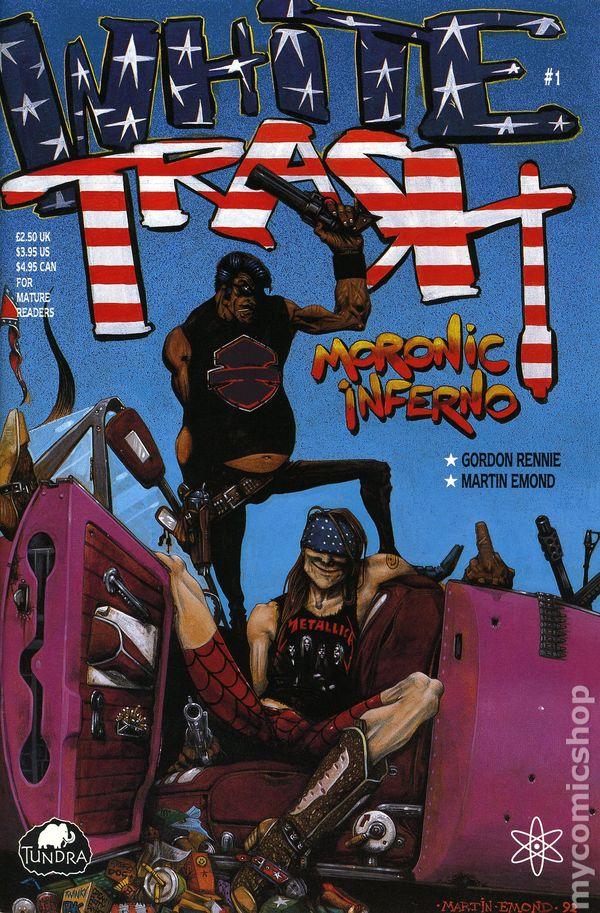 White Trash 1992 comic books