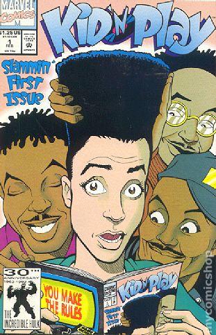 Kid N Play 1992 comic books