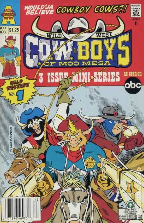 Wild West COWBoys of Moo Mesa 1992 1st Series comic books