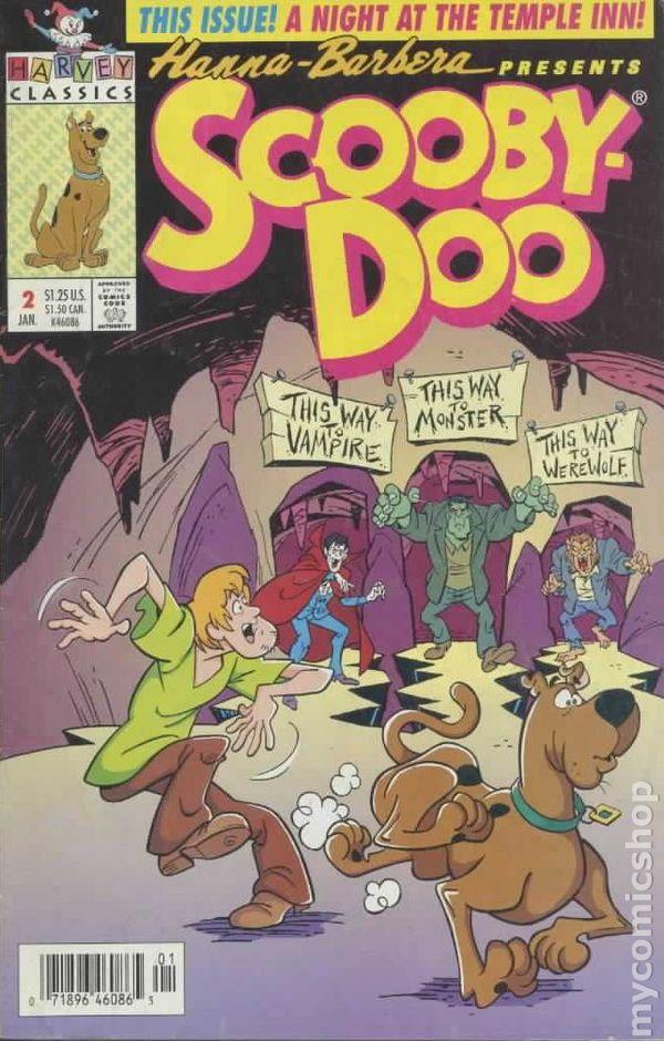 Scooby Doo 1992 Harvey Comic Books
