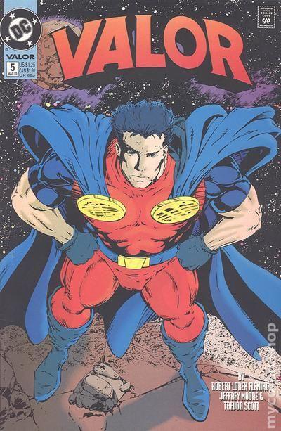 Valor 1992 DC comic books
