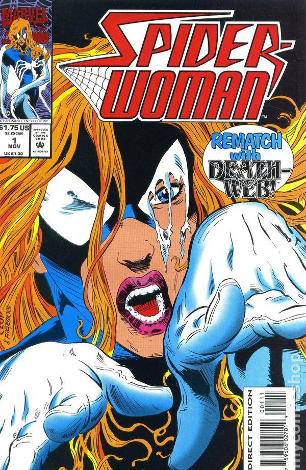 SpiderWoman comic books issue 1