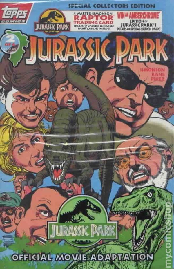 Jurassic Park 1993 comic books