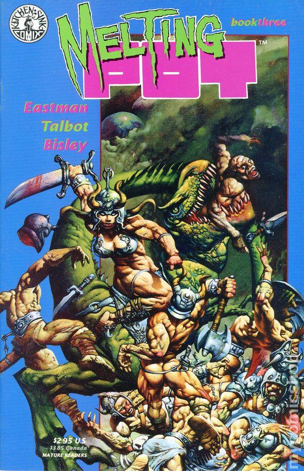 Melting Pot 1993 comic books
