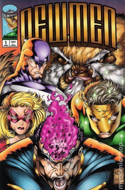 Newmen 1994 comic books