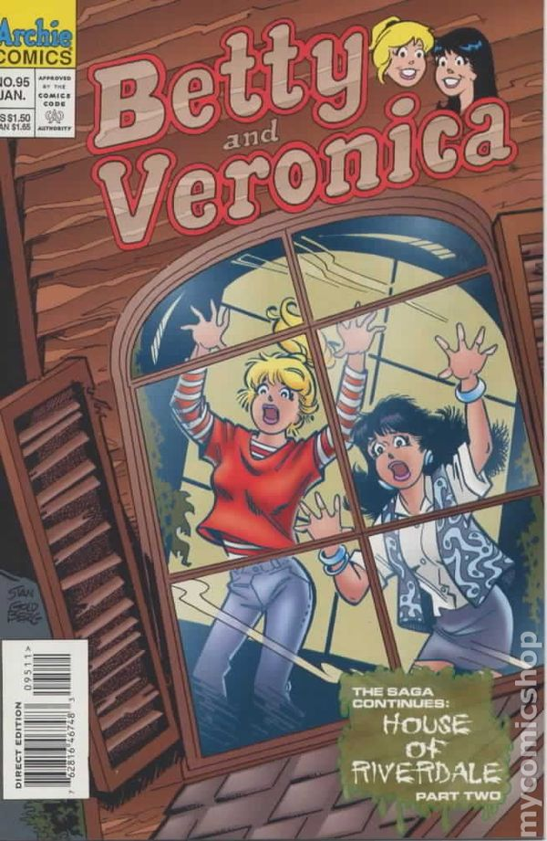 Betty and Veronica 1987 comic books