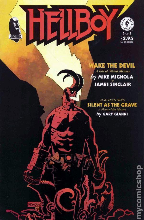 Hellboy Wake the Devil 1996 comic books