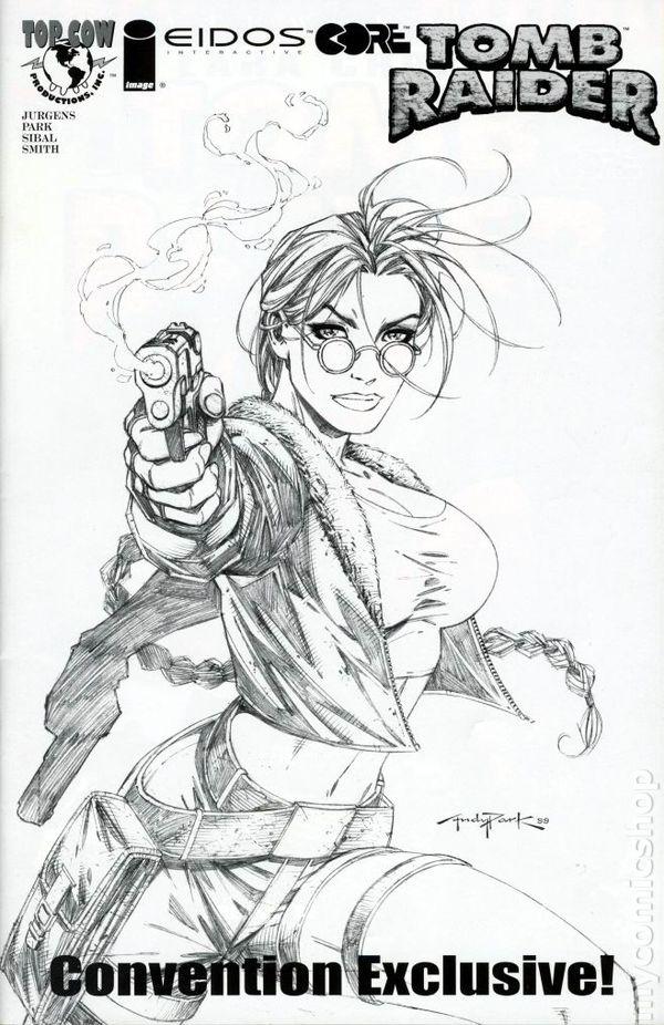Tomb Raider comic books issue 1
