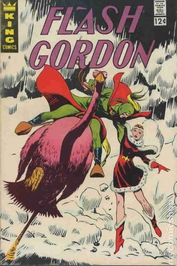Flash Gordon 1966 KingCharltonGold Key comic books