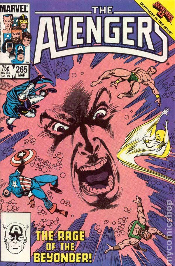 Avengers (v1) #265 Cover