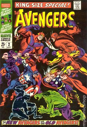 Avengers (1963 1st Series) Annual ic books