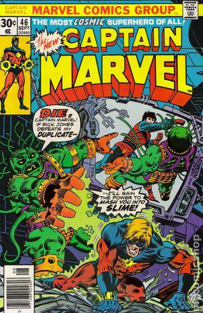 Captain Marvel 1968 1st Series Marvel comic books