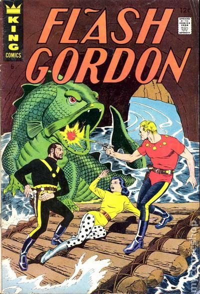 Flash Gordon 1966 KingCharltonGold Key comic books