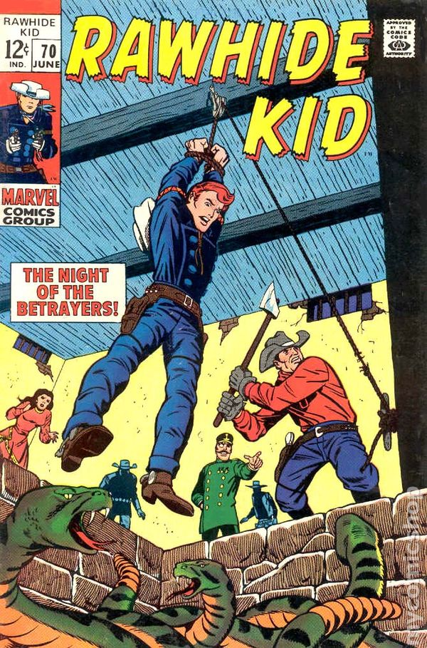 Rawhide Kid 1955 comic books