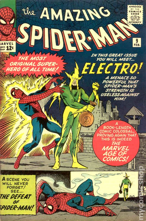 Amazing SpiderMan 1963 1st Series comic books