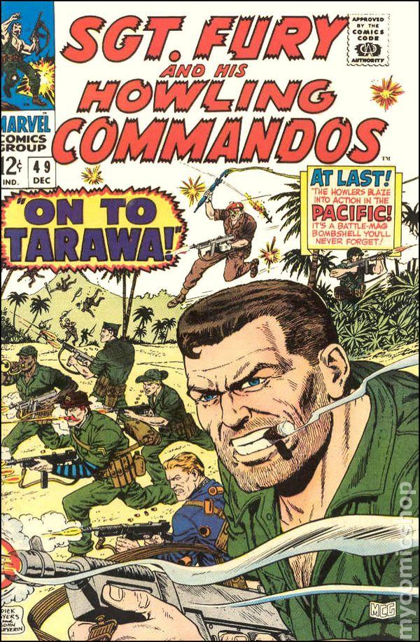 Sgt Fury 1963 comic books