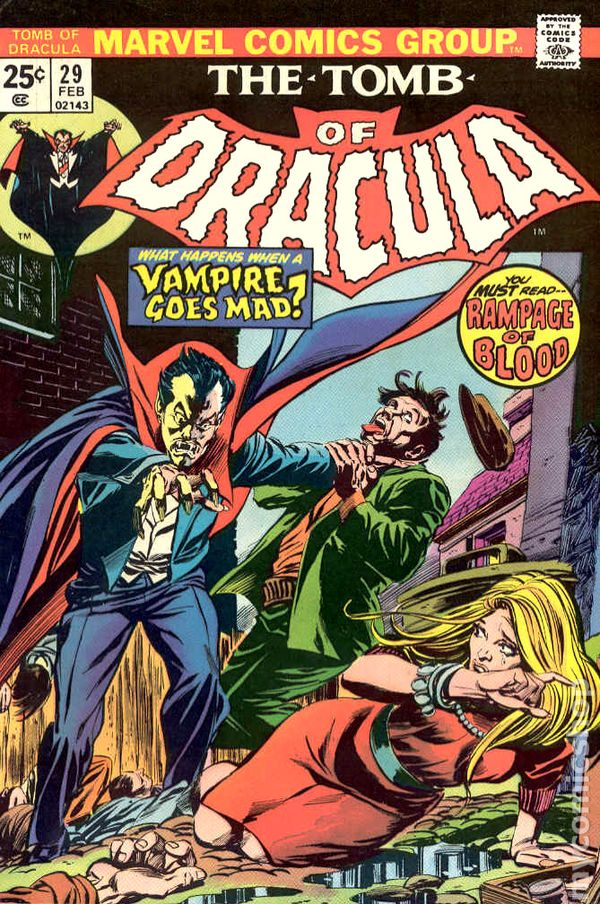 Tomb of Dracula 1972 1st Series comic books