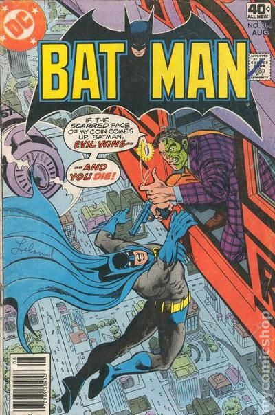 Batman 1940 comic books 19701979