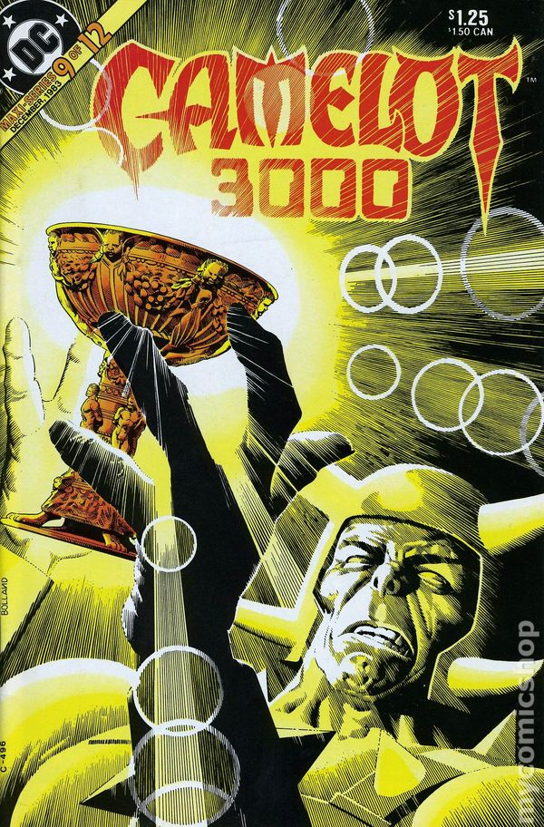 Camelot 3000 1982 comic books