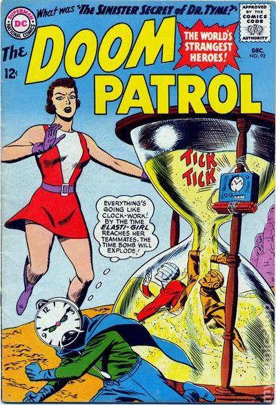 Doom Patrol 1964 1st Series comic books