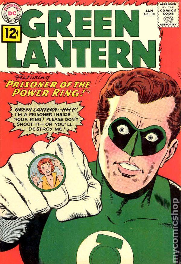 Green Lantern 19601988 1st Series DC comic books