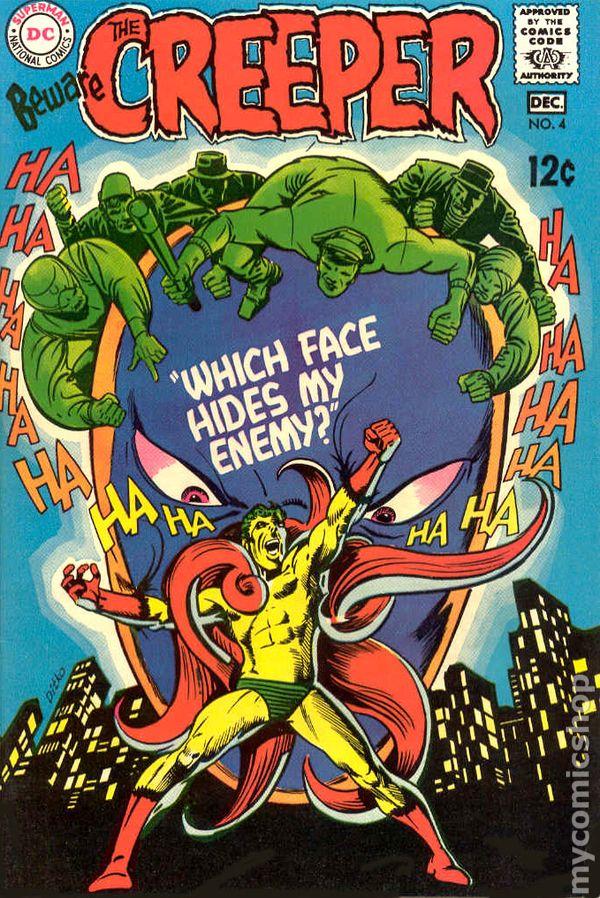 Girl Sweet Wallpaper Beware The Creeper 1968 1st Series Comic Books