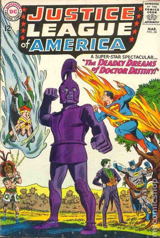 Justice League of America 1960 1st Series comic books