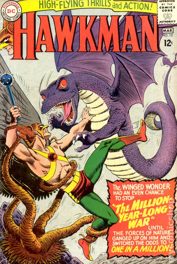 Hawkman 1964 1st Series comic books