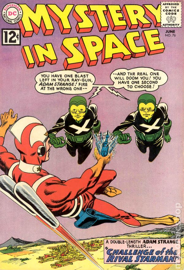 Mystery in Space 1951 1st Series comic books