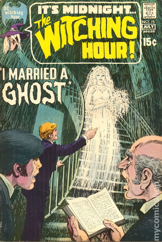 Witching Hour 1969 DC comic books