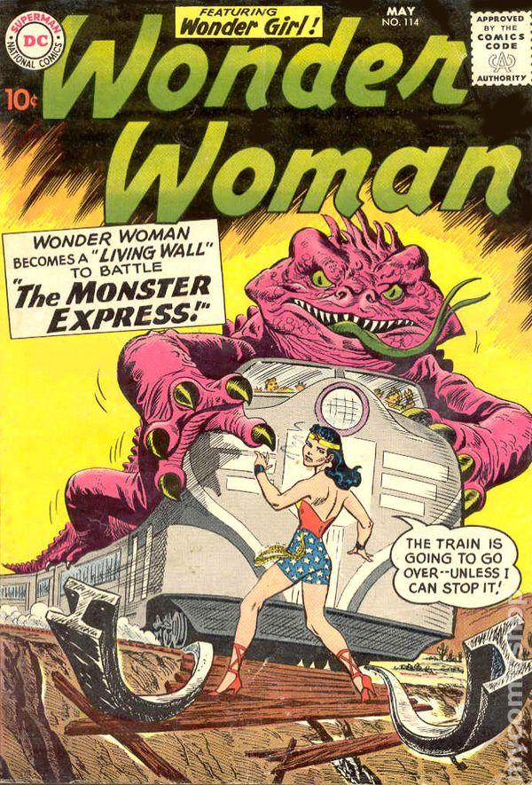 Wonder Woman 1942 1st Series Dc Comic Books 1960 1969