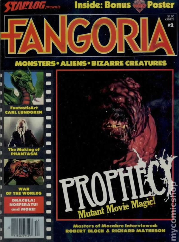 Fangoria 19792015 OQuinn Studios 1st Series comic books